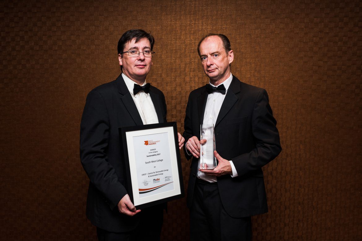 CREST wins major UK Sustainable Construction Award