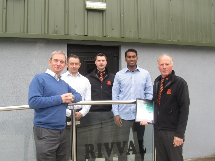 "RIVVAL Ltd ""lifts"" their name into the market place with help from the South West College"